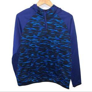Nike Boys Therma Fit Fleece Lined Camo Sweatshirt